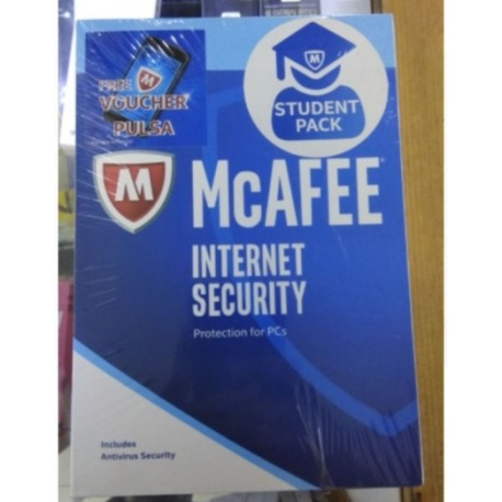 McAfee Internet Security Student Pack