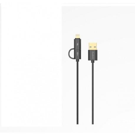 Oraimo BAMBOO TWIN HEAD LIGHTNING & MICRO USB