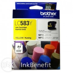 Tinta Brother LC 583 Yellow